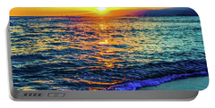 Hawaii Beach Sunset 149 Portable Battery Charger