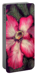Hawaii Flower Portable Battery Charger