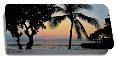 Hawaiian Big Island Sunset  Kailua Kona  Big Island  Hawaii Portable Battery Charger