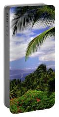 Hawaiian Fantasy Portable Battery Charger by Marie Hicks
