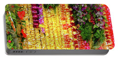 Hawaiian Flower Lei's Portable Battery Charger
