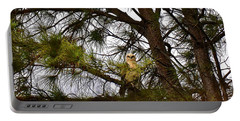 Portable Battery Charger featuring the photograph Hawaiian Hawk by Lehua Pekelo-Stearns