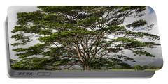 Hawaiian Moluccan Albizia Tree Portable Battery Charger