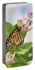 Hawaiian Monarch Portable Battery Charger by Heather Applegate