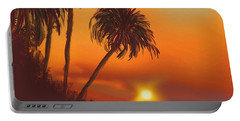 Hawaiian Sunset Portable Battery Charger