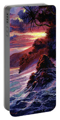 Hawaiian Sunset - Kauai Portable Battery Charger