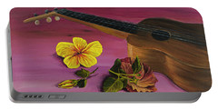 Hawaiian Ukulele Portable Battery Charger