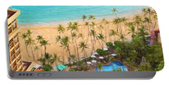 Portable Battery Charger featuring the photograph Hawaiian Vacation #2 by Sue Melvin