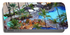 Portable Battery Charger featuring the photograph Hawaiian Vacation #3 by Sue Melvin