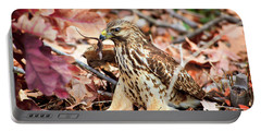 Hawk Catches Prey Portable Battery Charger