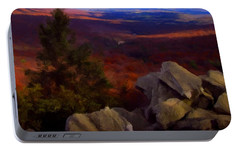Portable Battery Charger featuring the photograph Hawk Mountain Pennsylvania by David Dehner