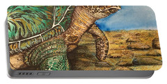Hawkbilled Sea Turtle Portable Battery Charger