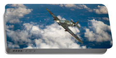 Portable Battery Charger featuring the photograph Hawker Hurricane IIb Of 174 Squadron by Gary Eason