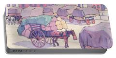 Hay Carts - Cumberland Market Portable Battery Charger