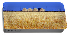 Hay Hay Portable Battery Charger by Debi Demetrion