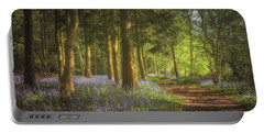 Hay Wood Bluebells Portable Battery Charger