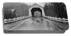 Hayden Covered Bridge, Alsea,  Oregon Portable Battery Charger