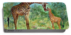 Haylee's Giraffes Portable Battery Charger