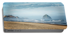 Haystack Rock Pacific City Portable Battery Charger