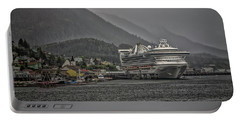 Portable Battery Charger featuring the photograph Hazy Day In Paradise  by Timothy Latta