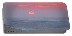 Hazy Sunrise I I Portable Battery Charger