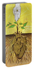 He Cultivates Our Hearts Portable Battery Charger
