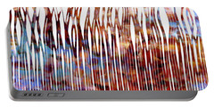 He Is Your Praise. Deuteronomy 10 21 Christian Art Portable Battery Charger by Mark Lawrence