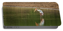 The Painted Stork  Mycteria Leucocephala  Portable Battery Charger