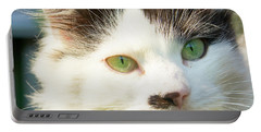 Head Of Cat Portable Battery Charger
