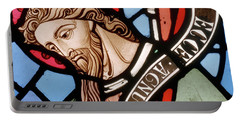 Head Of John The Baptist Portable Battery Charger