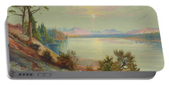 Head Of Yellowstone River, Yellowstone National Park 1876 Portable Battery Charger
