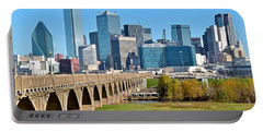 Heading To Dallas Portable Battery Charger by Frozen in Time Fine Art Photography