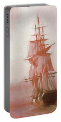 Portable Battery Charger featuring the photograph Heading To Salem From The Sea by Jeff Folger