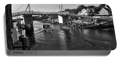 Heading To Sea - Perkins Cove - Maine Portable Battery Charger
