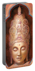 Healing Tara Portable Battery Charger by Sue Halstenberg