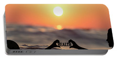 Portable Battery Charger featuring the photograph Health - Digital Art by Ericamaxine Price