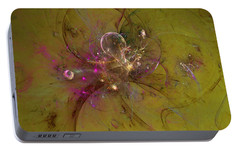 Portable Battery Charger featuring the digital art Hear My Voice by Jeff Iverson