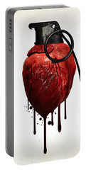 Heart Grenade Portable Battery Charger