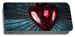 Heart In Cage Portable Battery Charger
