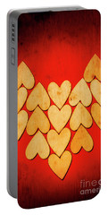 Heart Of Hearts Portable Battery Charger