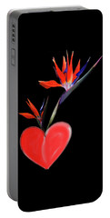 Heart  Of Paradise Portable Battery Charger