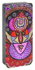 Heart Of The Feminine Portable Battery Charger