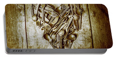 Heart Of The Kitchen Portable Battery Charger by Jorgo Photography - Wall Art Gallery