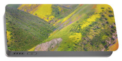 Portable Battery Charger featuring the photograph Heart Of The Temblor Range by Marc Crumpler