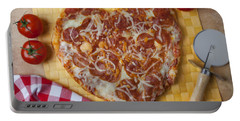 Heart Shaped Pizza Portable Battery Charger