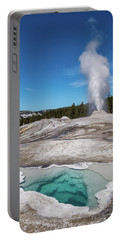 Heart Spring And Lion Geyser Portable Battery Charger