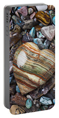 Heart Stone Portable Battery Charger
