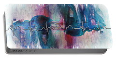 Heartbeat Drama Portable Battery Charger