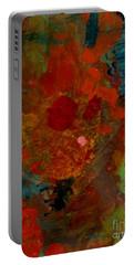 Heartfelt Portable Battery Charger by Nancy Kane Chapman
