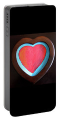 Hearts Afire Portable Battery Charger